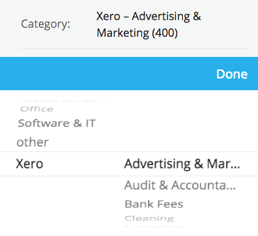 xero-categories
